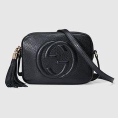 d8745cf3f Compra ahora Disco Bag Soho Pequeño de Piel de Gucci. Bolso de hombro  compacto con
