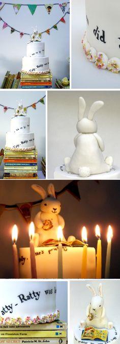 Ratty Tatty Birthday Cake. Delish!, @neviepiecakes The Book Party