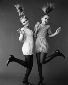 Mary-Kate and Ashley Olsen........