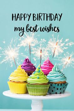 Happy Birthday. My best wishes.