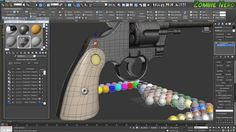 05  Colt Weapon simple texture with Ddo