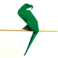 Origami Papagei