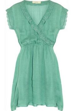 Bridal Shower Attire: Vanessa Bruno Silk Dress