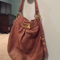 Authentic Marc by Marc Jacobs brown hobo Marc by Marc Jacobs work wear bag. Brown. Gently used. Still so much life left in this beautiful big bag. Marc by Marc Jacobs Bags Hobos
