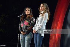 Fotografia de notícias : Actress Salma Hayek and Queen Rania Al-Abdullah...