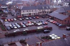 Overhead view of Chester-le-Street health centre car park North East England, Tunbridge Wells, Chester, Car Parking, Times Square, River, Street, Health, Photos