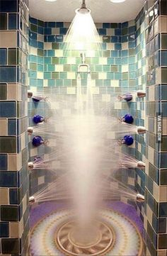The ultimate shower