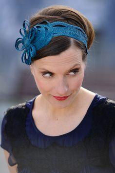 Beautiful headband from wool felt.
