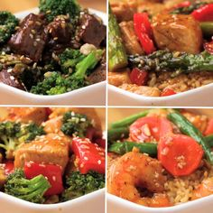 One-Pan Stir-Fry 4 Ways by Tasty