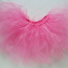 "How to Make a Tutu!  Ever wondered how those fancy-schmancy tutus are made? Click to find out... it's ""tu-tu"" cute! #craft #baby"
