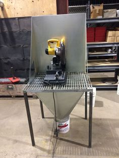 Chop saw table                                                                                                                                                     More
