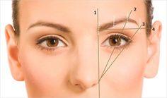 Eyebrows shaping