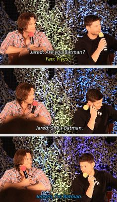 Find images and videos about supernatural, Jensen Ackles and jared padalecki on We Heart It - the app to get lost in what you love. Jensen Ackles, Jared And Jensen, Supernatural Tv Show, Supernatural Quotes, Sherlock Quotes, Sherlock John, Sherlock Holmes, Supernatural Convention, Winchester Boys