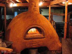 Саманная печь. Фото предоставлено участником мастер-класса