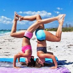Friends who headstand together, stay together.