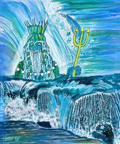 Neptun der Meeresgott