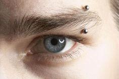 Best Modern Eyebrow Piercing For Men