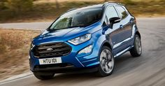 Euro-Spec Ford EcoSport Revealed, Available With AWD And New 1.5L Diesel #Ford #Ford_EcoSport