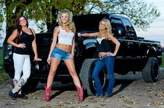 Country Girls And Pickup Trucks   Diesel Truck & Country Girls http://www.wealthdiscovery3d.com/offer ...