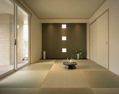 モダン 和室 アキュラホーム Japanese Modern, Japanese Interior, Japanese House, Modern Interior, Japanese Style, Washitsu, Japanese Living Rooms, Tatami Room, Zen Style