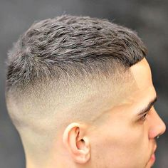 High Razor Fade with Textured Crop