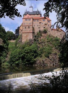 Burg Kriebstein, Waldheim, Saxony, Germany