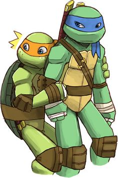 Leo and Mikey :)