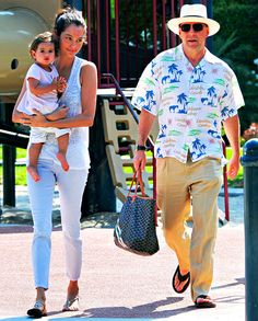 Bruce Willis Wears Hawaiian Shirt, Spends Day at Playground With Wife Emma, Baby Mabel