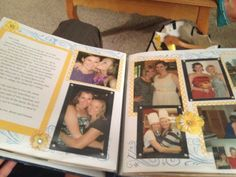 Pinterest Spruce-up: Letters to the Bride...a homemade scrapbook for the bride from her bridesmaids on the big day!