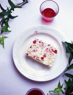 Love those #Cranberries | #Cranberry meringue parfait recipe