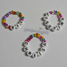 Doll Bracelet Personalized American Girl Stocking Stuffer