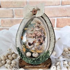 Easter Gift, Happy Easter, Easter Crafts For Adults, Easter Table Decorations, Egg Crafts, Easter Parade, Faberge Eggs, Egg Art, Vintage Easter