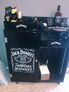 7 best My homemade Jack Daniel\'s mini bar images on Pinterest | Hand ...