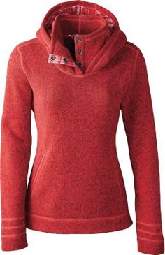 """Stay warm and cozy outdoors well into the night in The North Face's Women's Crescent Sunset Hoodie. Center Back Length: 27"""" S izes: S-2XL. Colors: Fanfare Green Heather, Greystone Blue Heather, Rambutan Pink Heather, TNF™ Black Heather."""