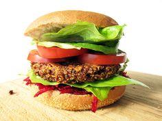 ❤️Quinoa Burger, Die Nicht Auseinander Fallen (Vegan, Glutenfrei)