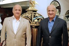 Munchi, right, and Dinsha Shroff are owners and founders of antique stores including the Royal Treasures Gallery in Dubai and the Ancestry in Mumbai. Courtesy Munchi and Dinsha Shroff