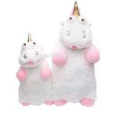 91b985d4d1a 40cm And 55cm Despicable Me Fluffy Unicorn Soft Stuffed Plush Toy Pillow  Gift For Kids