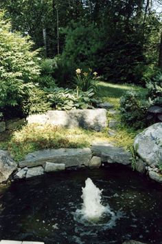 Gnome Landscape and DesignGnome Landscapes | Portfolio > Water Features - Falmouth Maine