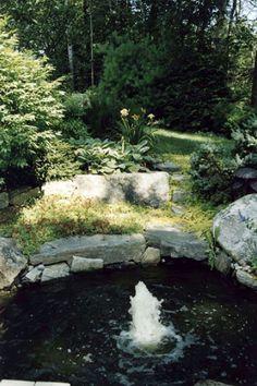 Gnome Landscape and DesignGnome Landscapes | Portfolio > Water Features - Falmouth Maine