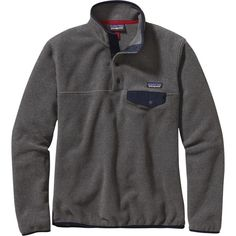 Patagonia Synchilla Lightweight Snap-T Fleece Pullover ($59) ❤ liked on Polyvore featuring patagonia