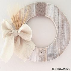 Fabulous DIY Fall Wreaths that were shared at Work it Wednesday - a weekly link party where bloggers share their latest and greatest.