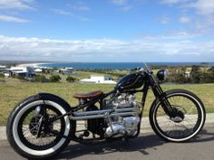 '66 Triumph Bobber/Chopper finished