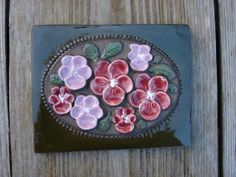 Original Vintage Jie Gantofta heavy wall Tile / by Luckytage, Wall Tiles, The Originals, Unique Jewelry, Handmade Gifts, Etsy, Vintage, Room Tiles, Kid Craft Gifts, Craft Gifts