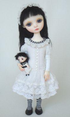 'Abby,' original art doll by Ana Salvador