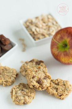 Gesunde Kekse vegan und ohne Zucker