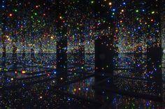Yayoi Kusama, Infinity Mirrored Room, 1965  Ph: Lucy Dawkins