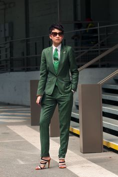 Esther Quek.  I mean how many people can pull this off?  What a badass