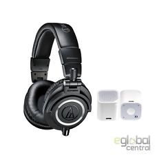 Audio-Technica ATH-M50x Monitor Headphones studio Black + Bluetooth Speaker SALE