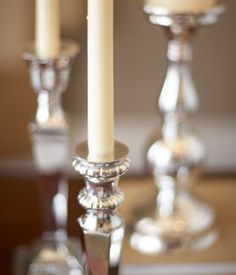 Gift idea...silver candlesticks