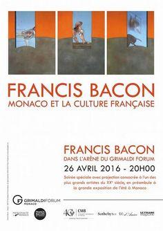 Francis #Bacon : une #exposition au Grimaldi Forum de #Monaco